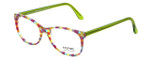 Eyefunc Designer Eyeglasses 8072-72B in Multi Green 49mm :: Custom Left & Right Lens