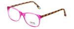 Eyefunc Designer Eyeglasses 8072-36 in Pink & Multi 49mm :: Progressive