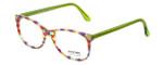 Eyefunc Designer Eyeglasses 8072-72B in Multi Green 49mm :: Progressive