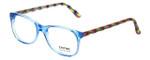 Eyefunc Designer Eyeglasses 8072-90 in Blue & Multi 49mm :: Progressive