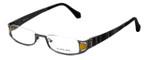 Eyefunc Designer Eyeglasses 327-54 in Yellow Glitter 50mm :: Rx Bi-Focal