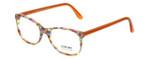 Eyefunc Designer Reading Glasses 8072-07B in Multi Orange 49mm
