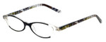 Vera Bradley Designer Reading Glasses Suzanne-CMS in Cocoa Moss 49mm