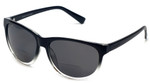 Coyote BP-18 Polarized Bi-focal Reading Sunglasses in Black & Grey