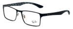 Ray-Ban Designer Eyeglasses RX8415-2861 in Black 53mm :: Rx Single Vision