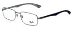 Ray-Ban Designer Eyeglasses RX8414-2502 in Silver 55mm :: Progressive