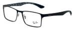 Ray-Ban Designer Eyeglasses RX8415-2861 in Black 53mm :: Progressive