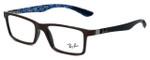 Ray-Ban Designer Eyeglasses RX8901-5612 in Brown 53mm :: Progressive