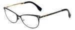 Fendi Designer Eyeglasses FF0024-7WH in Black 53mm :: Custom Left & Right Lens