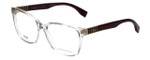 Fendi Designer Eyeglasses FF0055-MQX in Crystal 54mm :: Custom Left & Right Lens