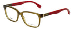 Fendi Designer Eyeglasses FF0056-MQZ in Olive 53mm :: Custom Left & Right Lens