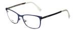 Fendi Designer Eyeglasses FF0036-XW9 in Matte Blue 52mm :: Progressive