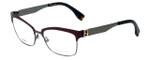 Fendi Designer Eyeglasses FF0052-MVN in Burgundy 53mm :: Progressive