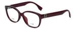 Fendi Designer Eyeglasses FF0068F-MKG in Burgundy 52mm :: Progressive