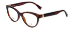 Fendi Designer Reading Glasses FF0008-8NH in Blonde Havana 52mm