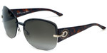 Christian Dior Designer Sunglasses Precieusef-KGK in Black-Havana 64mm