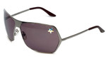 Christian Dior Designer Sunglasses Secret-6LB in Ruthrnium 69mm