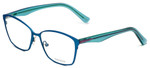 Vera Wang Designer Eyeglasses V344 in Blue 53mm :: Custom Left & Right Lens