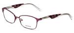 Vera Wang Designer Eyeglasses V349 in Raspberry 53mm :: Progressive