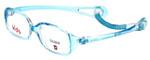 Cruiser Kids Designer Eyeglasses 2889 in Crystal-Teal 43mm :: Custom Left & Right Lens