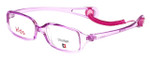 Cruiser Kids Designer Eyeglasses 2889 in Crystal-Purple 43mm :: Custom Left & Right Lens