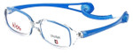 Cruiser Kids Designer Reading Glasses 2895 in Crystal-Blue 43mm
