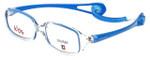 Cruiser Kids Designer Eyeglasses 2895 in Crystal-Blue 43mm :: Custom Left & Right Lens