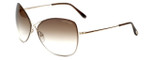 Tom Ford Designer Sunglasses Colette TF250-28F in Gold Brown Gradient Lens