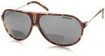 Carrera Hot in Green Havana Polarized Bi-Focal Reading Sunglasses