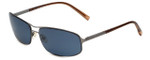 Prada SPR51E Designer Sunglasses in Gunmetal with Grey Tint