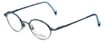Nicole Miller Designer Reading Glasses 1257 Ozone in Antique Blue 49mm