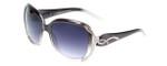 Carolina Lemke Designer Sunglasses CL1020 Grey Fade & Grey Gradient