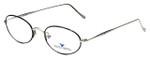 Dakota Smith Designer Eyeglasses Chameleon DS1382-1002 in Black 49mm :: Custom Left & Right Lens