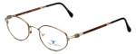 Dakota Smith Designer Eyeglasses Chili DS1112 in Demi Amber 49mm :: Custom Left & Right Lens
