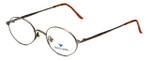 Dakota Smith Designer Eyeglasses Artville DS0910-1047 in Bronze 49mm :: Progressive