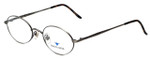 Dakota Smith Designer Eyeglasses Artville DS0910-1009 in Antique Pewter 49mm :: Progressive
