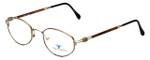 Dakota Smith Designer Eyeglasses Chili DS1112 in Demi Amber 49mm :: Rx Bi-Focal