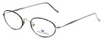 Dakota Smith Designer Reading Glasses Chameleon DS1382-1002 in Black 49mm