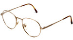 Ralph Lauren Polo Designer Reading Glasses Classic Collection 60 in Gold with Clip-On 51mm