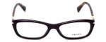 Prada Designer Eyeglasses VPR04P-ROM1O1 in Burgundy 52mm :: Custom Left & Right Lens