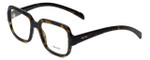 Prada Designer Eyeglasses VPR15R-2AU1O1 in Tortoise 53mm :: Rx Single Vision