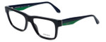 Prada Designer Eyeglasses VPR16R-1AB1O1 in Black 51mm :: Progressive