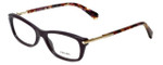 Prada Designer Eyeglasses VPR04P-ROM1O1 in Burgundy 52mm :: Rx Bi-Focal