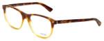 Prada Designer Eyeglasses VPR17R-TKU1O1 in Light Havana 54mm :: Rx Bi-Focal