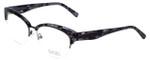 Badgley Mischka Designer Eyeglasses Vivianna in Black 54mm :: Custom Left & Right Lens
