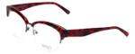 Badgley Mischka Designer Eyeglasses Vivianna in Burgundy 54mm :: Custom Left & Right Lens