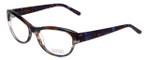 Badgley Mischka Designer Eyeglasses Madeline in Blue 53mm :: Rx Bi-Focal