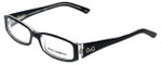 Dolce & Gabbana Designer Eyeglasses DD1179-675 in Black 51mm :: Rx Single Vision
