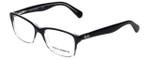 Dolce & Gabbana Designer Eyeglasses DD1246-2602 in Black-Fade 52mm :: Progressive