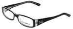 Dolce & Gabbana Designer Reading Glasses DD1179-675 in Black 51mm